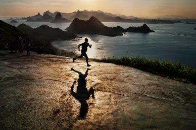 Steve McCurry Brazilian runner