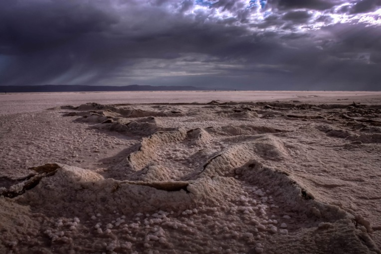 Salt lake of Chott el Djerid